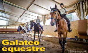 Galateo equestre, o della buona educazione in sella