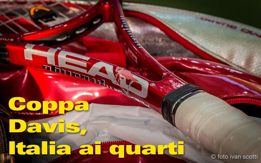 Coppa Davis: L'Italia Del Tennis Ai Quarti Di Finale.