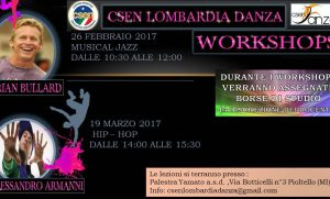 Danza: due workshop per il Musical Jazz e l'Hip-Hop alla Yamato di Pioltello