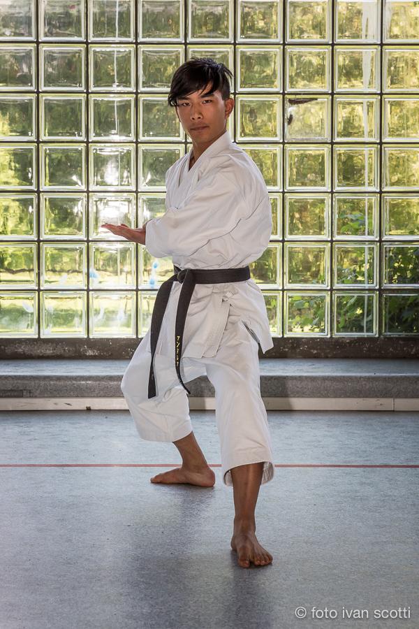 karate allenamento