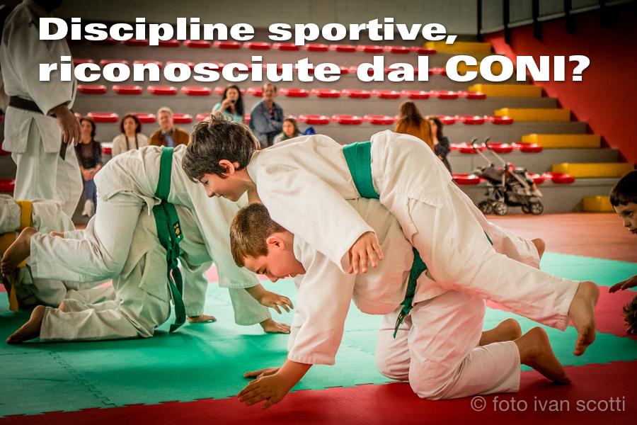 Elenco Delle Discipline Sportive Riconosciute Dal CONI