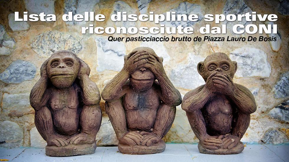 Lista Delle Discipline Sportive Riconosciute Dal CONI