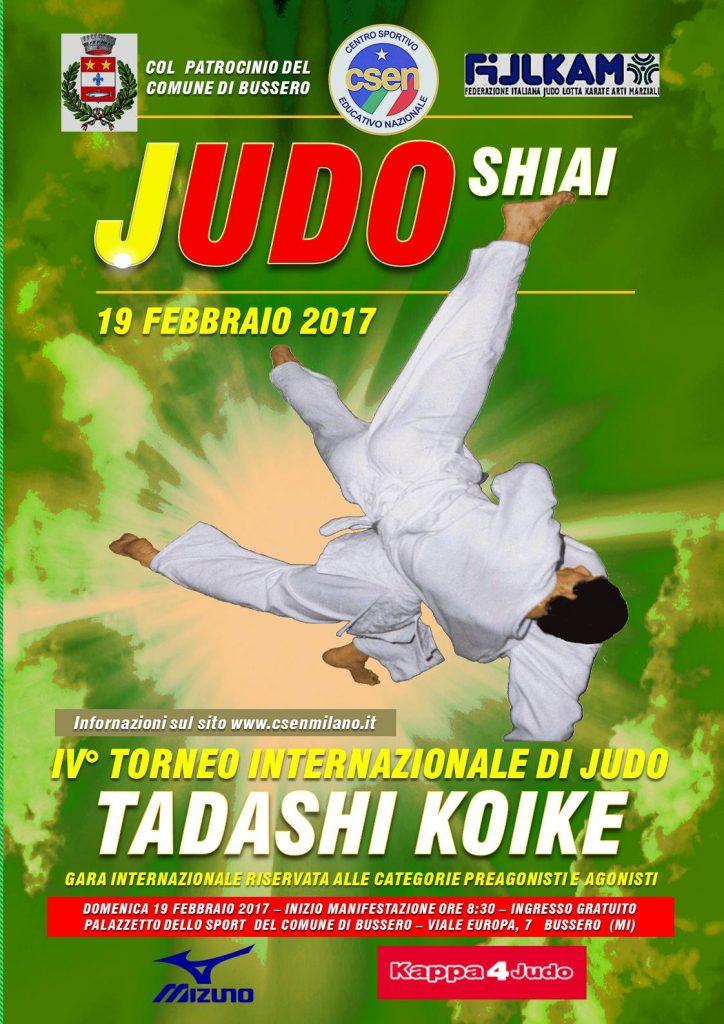 Manifesto 4 Torneo Judo