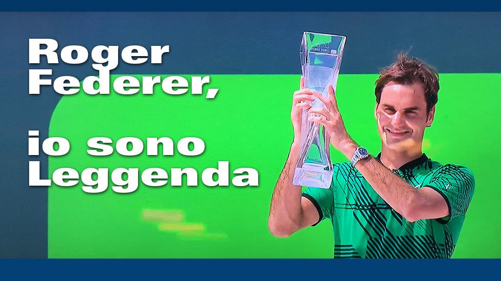 Roger Federer Leggenda