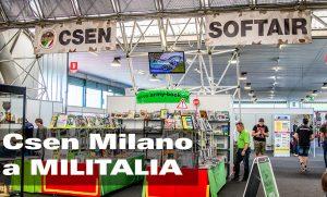 Csen Milano alla Fiera Militalia