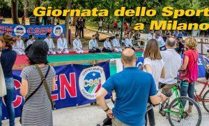 Giornata dello Sport al Castello Sforzesco di Milano