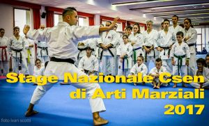 Stage Nazionale CSEN di Arti Marziali 2017
