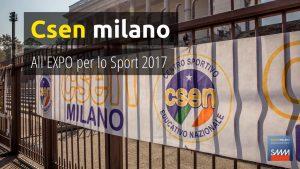 ExpoSport 2017 csen milano 2017